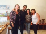 María y Diana voluntarias de Taller de Solidaridad en CANAT